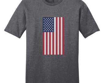 American Flag - Patriotic 4th Of July USA T-Shirt
