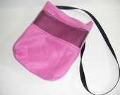 Sugar Glider, Bonding Pouch, Pink Fleece, Viewing Screen, Zipper Closure, Small Animal Pouch, CooperStudios