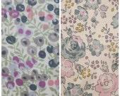 2 pcs of Liberty fabrics - Printed in Japan