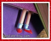 Dorothy Legs Bookmark -Etsy Original- Inspired by Wicked and Wizard of Oz