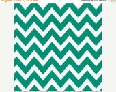 SuperBowl Sale Remix Chevron by Ann Kelle for Robert Kaufman Fabrics, Emerald 1/2 yd total