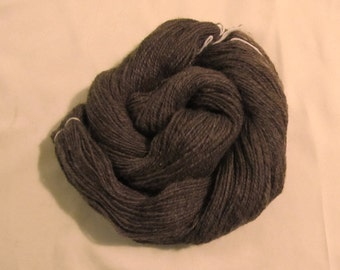 Natural Brown Handspun Wool 120g