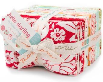 HELLO DARLING 40 Fat Eighth Bundle by Bonnie & Camille for Moda Fabrics 55110F8