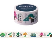 Mark's Japanese Washi Masking Tape - Japan Series / Japanese Bonsai 20mm wide for packaging, party deco, crafting