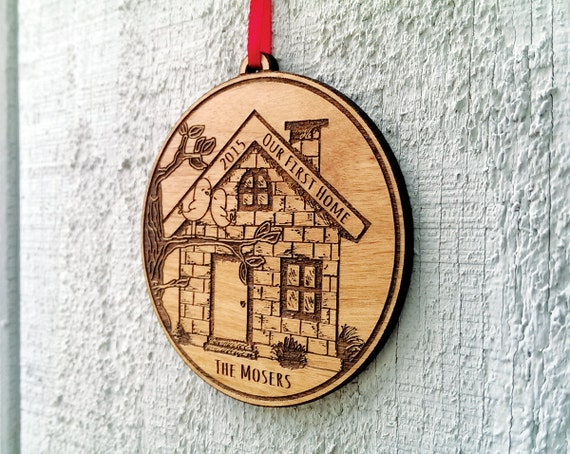 Our First Home Christmas Ornament First House Ornament