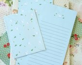Mint Sheep Time Diary writing paper & envelope set