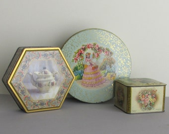 containers - tin - vintage - Mint Special - a collection of 3 tins