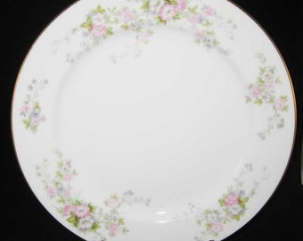 Occupied Japan Rose China Dinner Plate Pattern #RO71