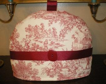 Tea Cozy, Warmer, Insulator, Toile, English Style
