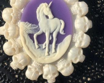 The last unicorn brooch