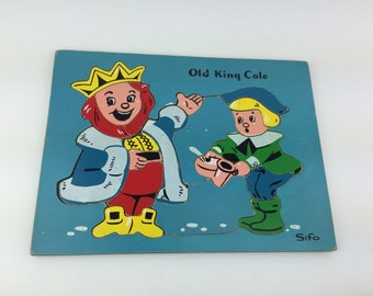 Vintage Sifo Old King Cole Puzzle