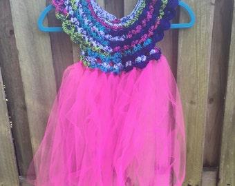 Fairy Yoke Tulle Dress ~  Fairy Dress-Up ~ Pretend Play Dress ~ Girl's Dress