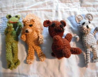 crochet Forrest animals