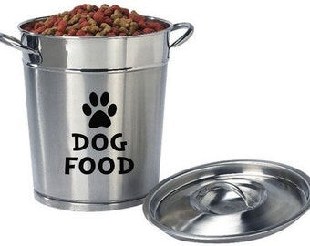 Dog Food Vinyl Decal