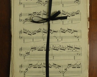 Vintage Sheet Music for Wallpaper, Crafts, Scrapbooks, Wrapping Paper