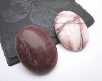 Brown Brooch Pin -- Gemstone Brooch -- Brown Lapel Pin -- Stone Pin Accessory -- Stone Lapel Pin -- Large Brown Brooches -- Oval Brooch