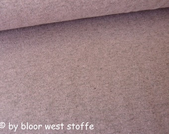 Lillestoff Stretchjersey Lilac-Mélange Uni Organic Cotton
