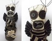 Demon Horror Doll Monster Plush Goth Doll Zombie Art Doll