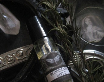 Rosemary Myst Gypsy Apothecary  Alchemy Natural Perfume Body Oil 1/3 oz roll on Rosemary, Orange Blossom,Spearmint,Almond, Amber
