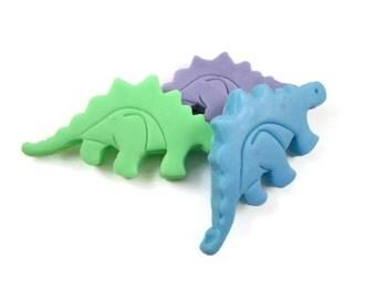 Dinosaur Soaps | Kids' Soap | 3 Surprise Color/Scent Dinosaur Soaps | Kids Party Favor Soap | Gift for Child | Soap Favor