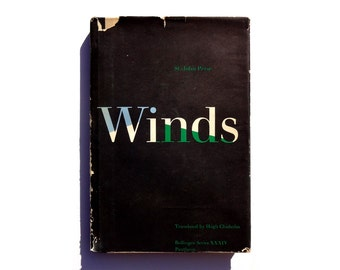 "Paul Rand book cover design, 1961. ""Winds"" by St.-John Perse, translated by Hugh Chisholm"