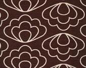 Laminated Cotton aka Oilcloth HEAVYWEIGHT splat mat Jessica Jones Time Warp Brown Ripple choose your size