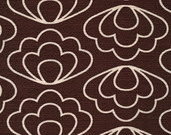 Laminated Cotton aka Oilcloth HEAVYWEIGHT splat mat Jessica Jones Time Warp Brown Ripple choose your size