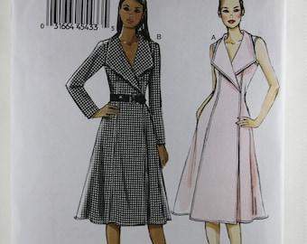 Vogue 8992, Misses' Wrap Dress Sewing Pattern, Misses' Dress Pattern, Sewing Pattern, Very Easy Vogue Pattern, Size 8 to 16, Uncut