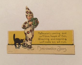 Vintage Halloween Place Card