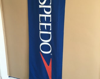 Speedo Cloth Banner or Sign