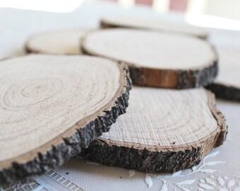 "Wood Slices - 4"" Round - Crafting Wood"