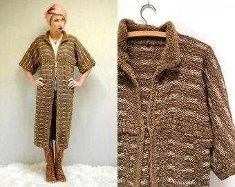 Long Sweater Coat  //  Duster Cardigan  //  THE BRAMAS