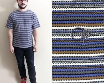 vintage tshirt mens 90s ocean pacific surfer op striped normcore shirt clothing 1990s size medium m