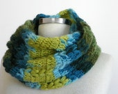 knit scarf, unisex scarves, Cowl Scarf, winter accessories, circle scarf, chunky cowl scarf, infinity cowl
