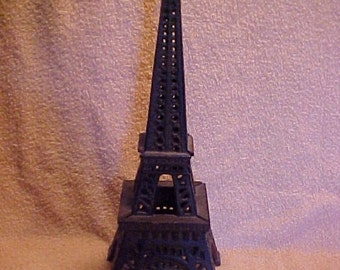 Cast Iron Eiffel Tower Tealight or Votive Garden Patio Candle Holder Lantern