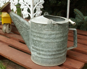 Vintage Galvanized Sprinkling Watering Can
