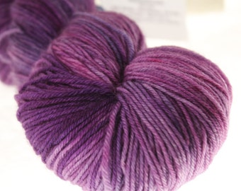 MCN Kettle Dyed Fingering Semi-Solid - Plum Dandy - 450 yards