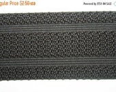 """ON SALE 10% off 1 yard Dark Coffee Brown 2"""" wide boxer knit waistband sewing knitted elastic"""