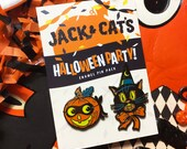 Halloween Party Enamel Pin Set/Ltd. Edition 100 pieces