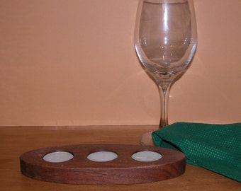 Candle Holder for 3 tealight candles - Home Decor - Contemporary Look