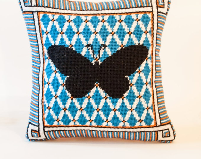 Butterfly Silhouette Needlepoint Kit