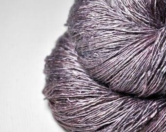 Julia's death  - Tussah Silk  Lace Yarn