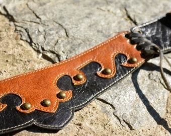 S.A.L.E |Leather Utility Belt |  Handmade Designer Pocket Belt | High Quality Hip Belt | Biker | Burning Man | Festival Fashion |