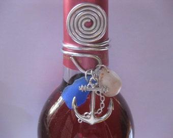Anchor  locket wine  or bottle topper