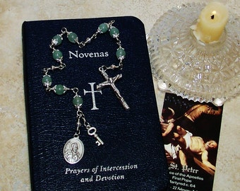 Unbreakable Catholic Chaplet of St. Peter - First Pope - Patron Saint of  Bakers, Fishermen, Locksmiths, Masons and the Papacy