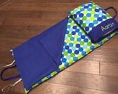Kindermat Cover - Blue Disco Dots