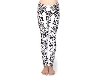 Extra Long Leggings - Tall Girl Pants - Organic Yoga Pants - Tall Women - Best Leggings