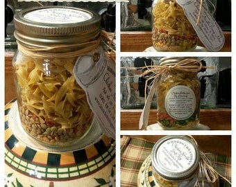 Old Fashioned Soup Mix in Canning Jar*Made to order
