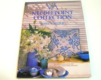 Victoria and Albert Needlepoint Collection by Karen Elder, Pattern Book
