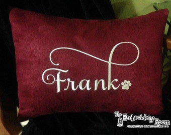 Personalized Pillow Cover With Your Pet's Name